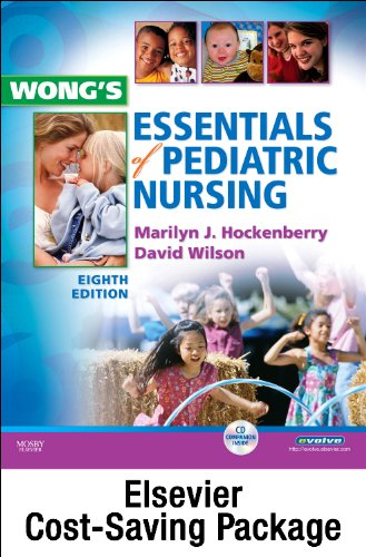 Wong's Essentials of Pediatric Nursing - Text and Virtual Clinical Excursions 3. 0 Package  9th edition cover