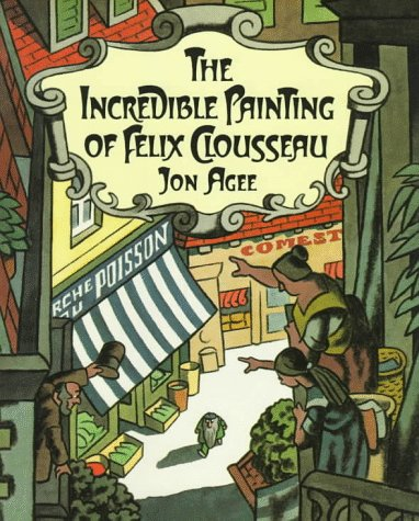 Incredible Painting of Felix Clousseau  N/A edition cover