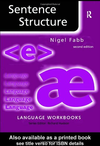 Sentence Structure  2nd 2004 (Revised) edition cover