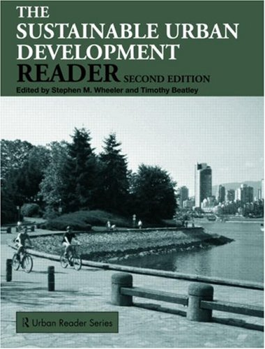Sustainable Urban Development Reader  2nd 2008 (Revised) edition cover