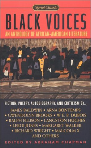 Black Voices An Anthology of African-American Literature  2001 edition cover
