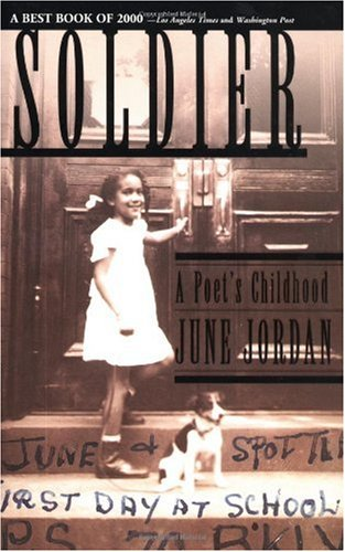 Soldier A Poet's Childhood  2001 edition cover