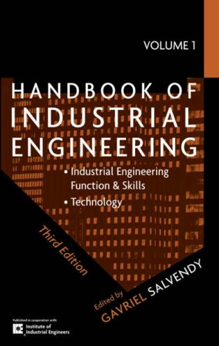 Handbook of Industrial Engineering, 3E V1, V2 and V3 Package   2007 edition cover