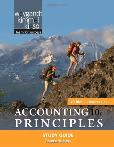 Accounting Principles  10th 2011 (Student Manual, Study Guide, etc.) 9780470887820 Front Cover