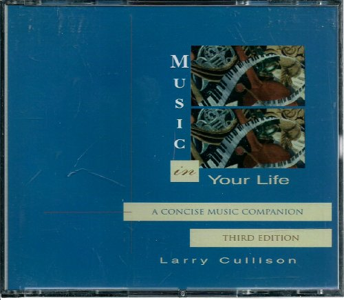 MUSIC IN YOUR LIFE-TEXT+3 CDS 3rd 2003 9780536725820 Front Cover