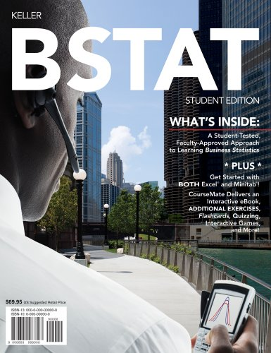 BSTAT (with Review Cards and Printed Access Card)   2012 9780538479820 Front Cover
