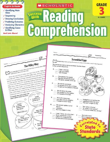 Scholastic Success with Reading Comprehension   2010 9780545200820 Front Cover