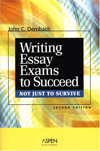 Writing Essay Exams to Succeed (Not Just to Survive)  2nd 2007 (Student Manual, Study Guide, etc.) edition cover