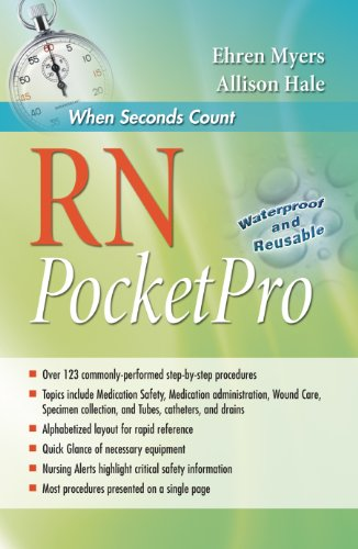 RN PocketPro Clinical Procedure Guide  2013 (Revised) edition cover