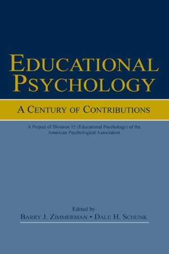 Educational Psychology A Century of Contributions  2002 edition cover