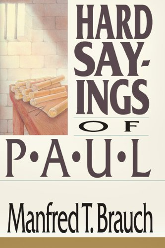 Hard Sayings of Paul  N/A edition cover
