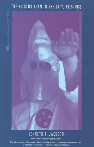 Ku Klux Klan in the City, 1915-1930  Reprint edition cover