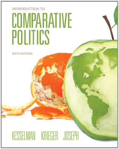 Introduction to Comparative Politics  6th 2013 edition cover
