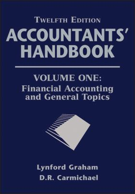 Accountants' Handbook Financial Accounting and General Topics 12th 2012 edition cover