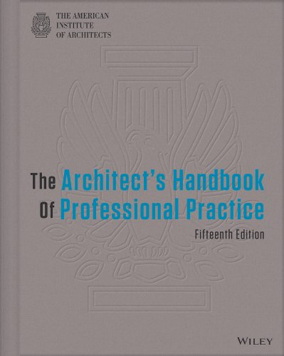 Architect's Handbook of Professional Practice  15th 2014 edition cover