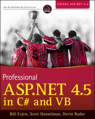 Professional Aspnet 45 in C# & Vb:   2013 edition cover