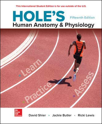 Hole's Human Anatomy & Physiology 15th 9781260092820 Front Cover