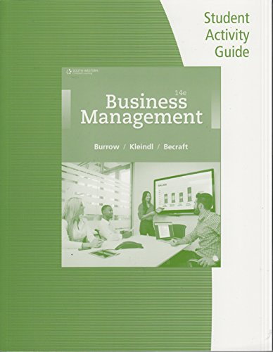 BUSINESS PRINCIPLES+MGMT.-STUD.ACT.GDE. N/A 9781305661820 Front Cover