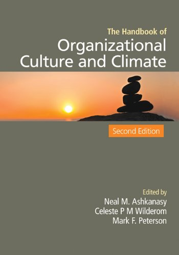 Handbook of Organizational Culture and Climate  2nd 2011 9781412974820 Front Cover