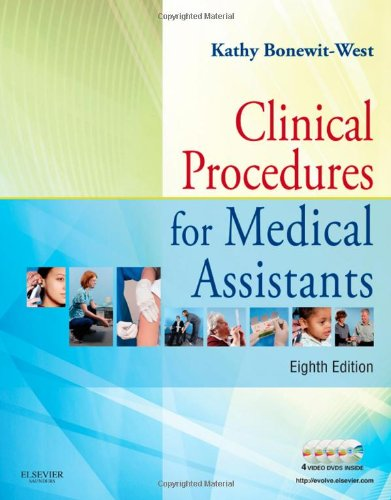 Clinical Procedures for Medical Assistants  8th 2011 edition cover