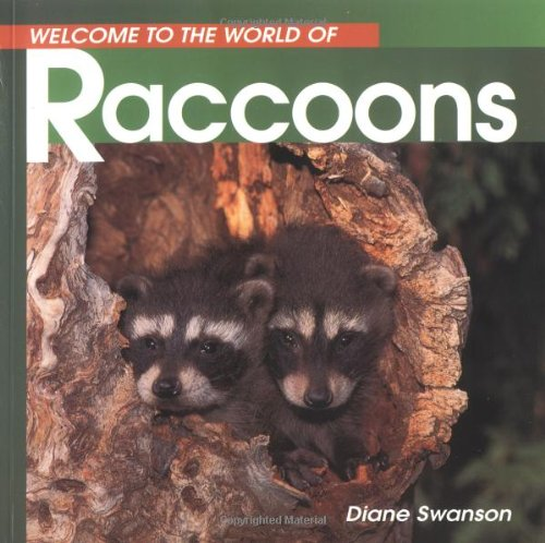 Raccoons  N/A 9781551107820 Front Cover