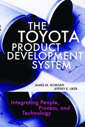Toyota Product Development System Integrating People, Process, and Technology  2006 edition cover