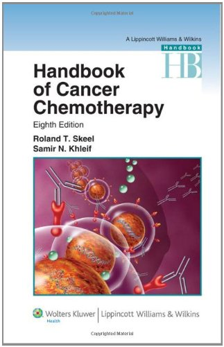 Handbook of Cancer Chemotherapy  8th 2011 (Revised) edition cover