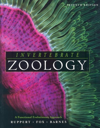 Invertebrate Zoology A Functional Evolutionary Approach 7th 2004 (Revised) 9780030259821 Front Cover