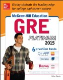 McGraw-Hill Education GRE Platinum 2015   2014 edition cover