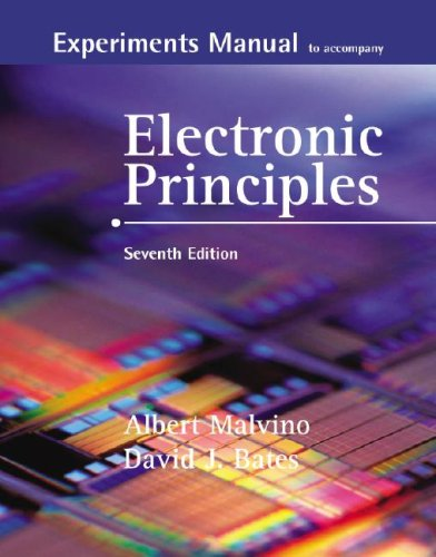 Electronic Principles  7th 2007 edition cover