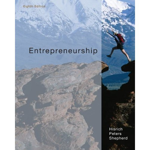 ENTREPRENEURSHIP-W/CD N/A 9780078006821 Front Cover