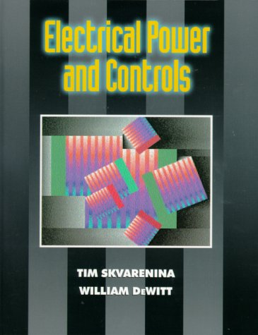 Electrical Power and Controls   2001 9780130801821 Front Cover
