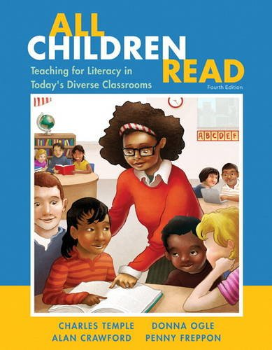 All Children Read Teaching for Literacy in Today's Diverse Classrooms 4th 2014 edition cover