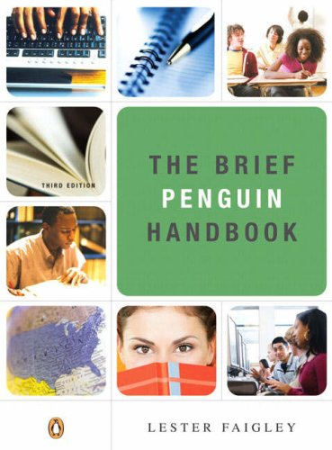 Brief Penguin Handbook  3rd 2009 edition cover