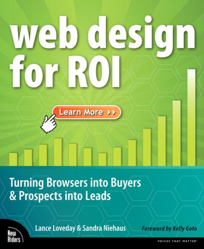 Web Design for ROI Turning Browsers into Buyers and Prospects into Leads  2008 edition cover