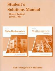 Finite Mathematics and Mathematics with Applications  10th 2011 edition cover