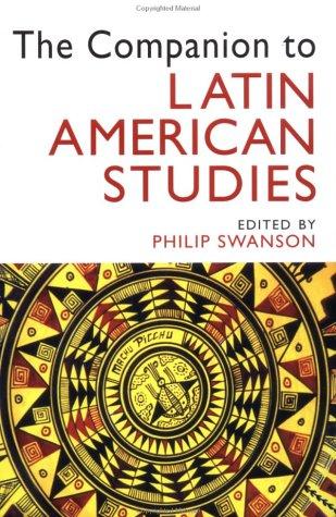 Companion to Latin American Studies   2003 edition cover