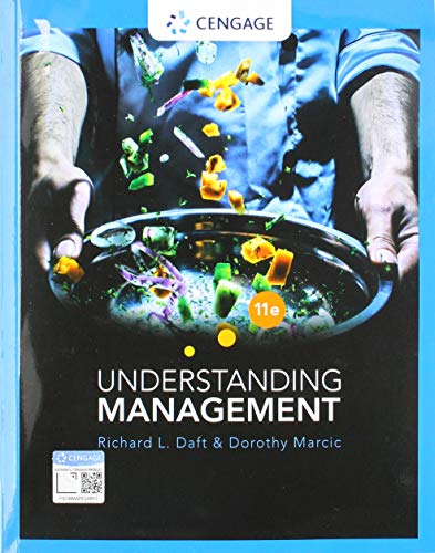 Understanding Management  11th 2020 9780357033821 Front Cover