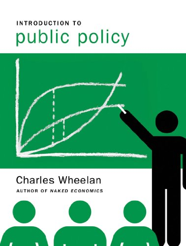 Introduction to Public Policy   2011 edition cover