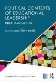 Political Contexts of Educational Leadership ISLLC Standard Six  2014 edition cover