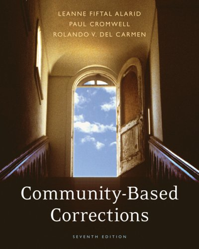 Community-Based Corrections  7th 2008 (Revised) edition cover