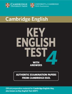 Cambridge Key English Test 4 With Answers  2006 9780521670821 Front Cover