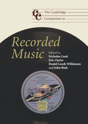 Cambridge Companion to Recorded Music   2009 9780521865821 Front Cover