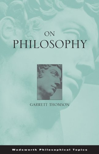 On Philosophy   2003 9780534595821 Front Cover