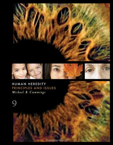 Human Heredity Principles and Issues 9th 2011 9780538498821 Front Cover