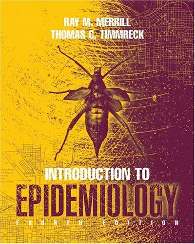 Introduction to Epidemiology  4th 2006 (Revised) edition cover