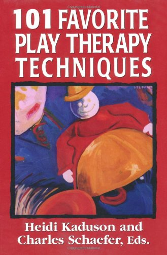 101 Favorite Play Therapy Techniques   1997 edition cover