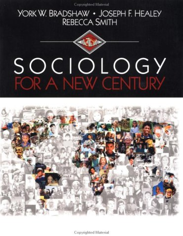 Sociology for a New Century   2001 edition cover