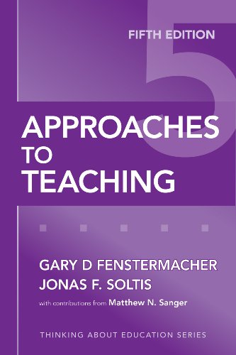 Approaches to Teaching  5th 2009 (Revised) edition cover