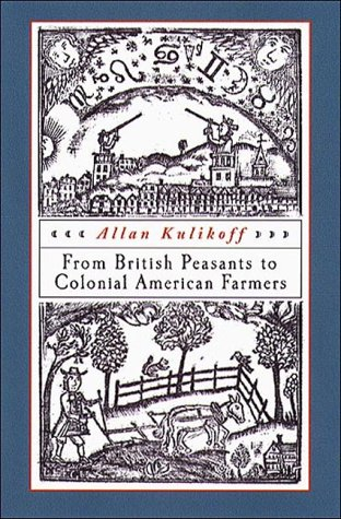 From British Peasants to Colonial American Farmers   2000 edition cover